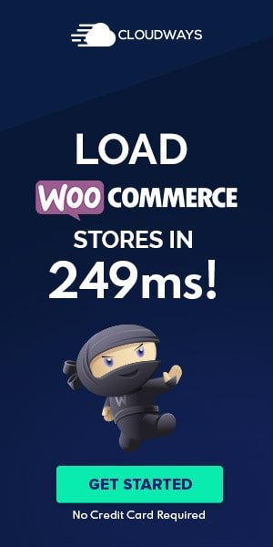 Cloudways banner load WooCommerce stores in 249 ms the ultimate managed cloud hosting platform
